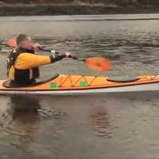 Gordon Brown Forward Paddling
