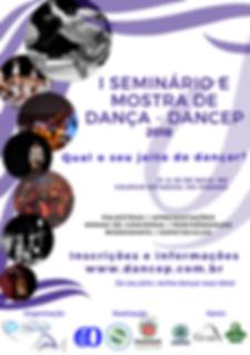 Cartaz_-_I_Seminário_e_Mostra_-_Dancep_2