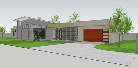 Rendering, Rice Avenue House