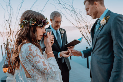 Jenae and Alex - A Waterfront Wedding-29