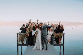 Jenae and Alex - A Waterfront Wedding-38