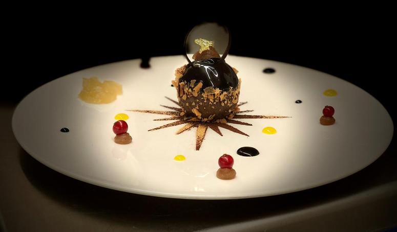 Sphère chocolatée Grand Cru