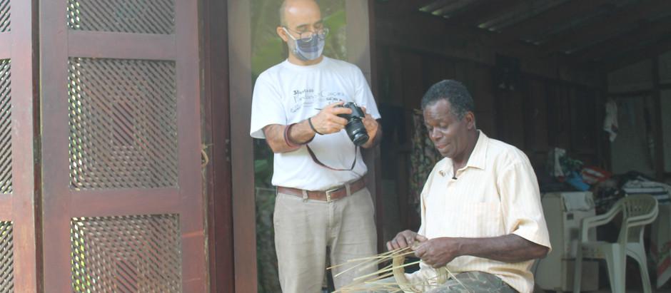 Instituto Capiá realiza mapeamento e registro de saberes e fazeres artesanais