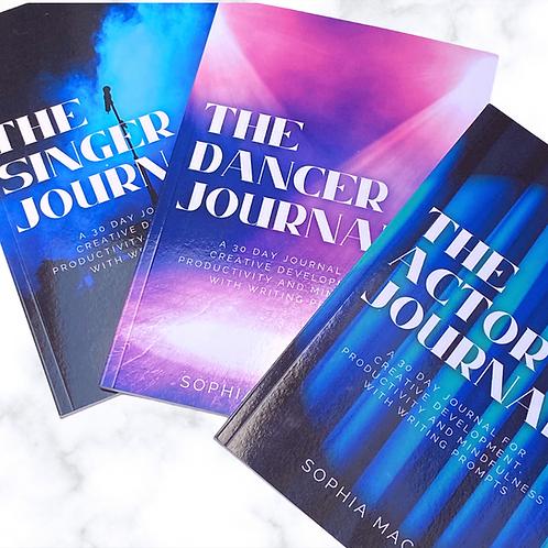 The Performer Journals BUNDLE