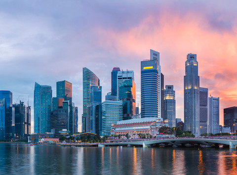 Singapore positions itself as a regional technology hub