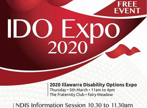 Come and say 'hello' at Illawarra Disability Options Expo