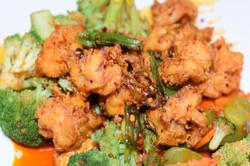 Dry Pan-fried Shrimp