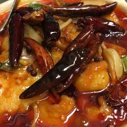 香辣鱼片锅