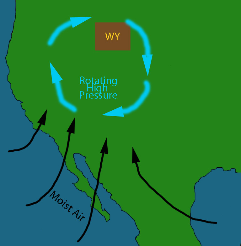 Wyoming and the Monsoon
