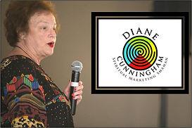diane speaking with color logo - Diane C
