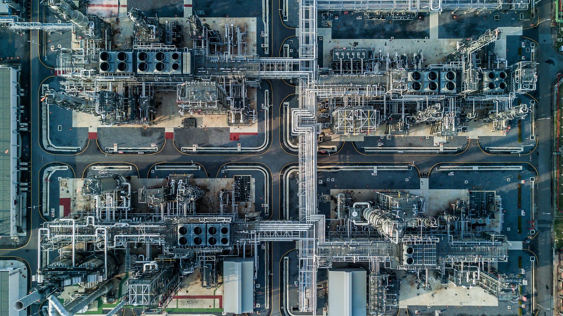 Site industriel inspection visuelle