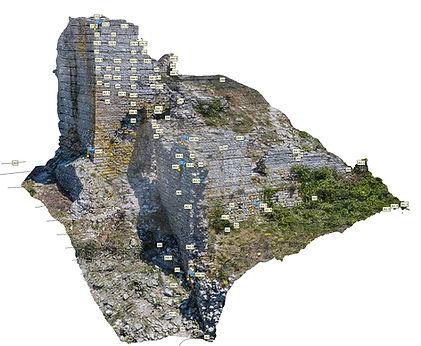 Drone photogrammetrie exodair Aumelas
