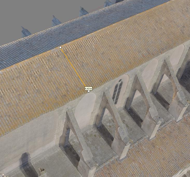 mesure sur M3D Abbaye Val