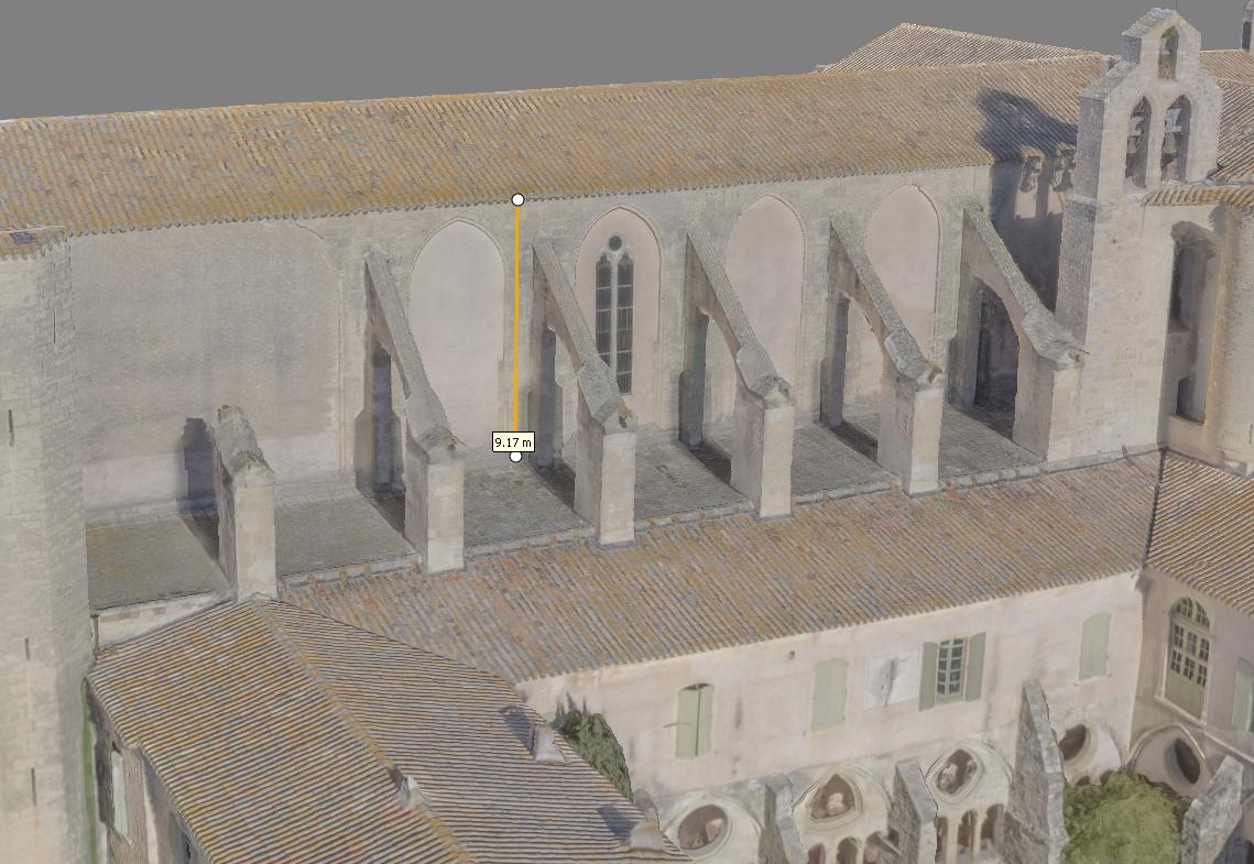 mesure sur M3D Abbaye Valmagne