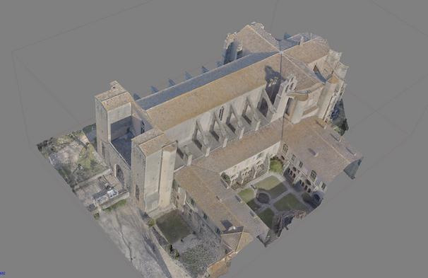 Abbaye de Valmagne 3D