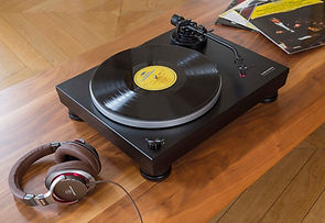 Audio Technica turntables at the little audio company,