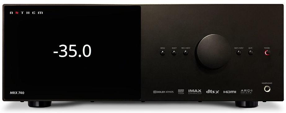 Anthem MRX-740 home theatre receiver,