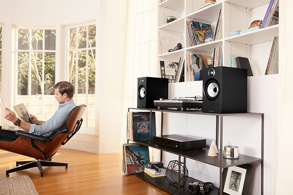 Bowers and Wilkins 606 loudspeakers,