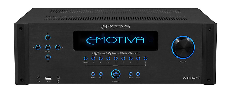Emotiva XMC-1 home theatre processor,