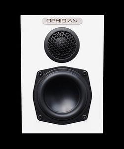 ophidian minimo speakers, compact speakers, bookshelf speakers, small speakers, the little audio company,