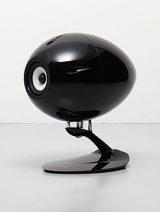 Eclipse TD510 Mk2 speakers, shown in black,