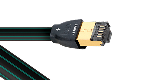 AudioQuest Forest ethernet cable,