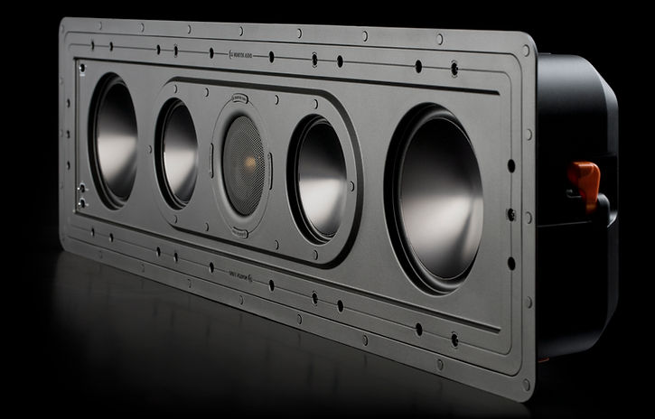 Monitor Audio Controlled Performance speakers, Monitor Audio CP-WT150 in-wall speaker, custom install speakers, discreet speakers, the little audio company,