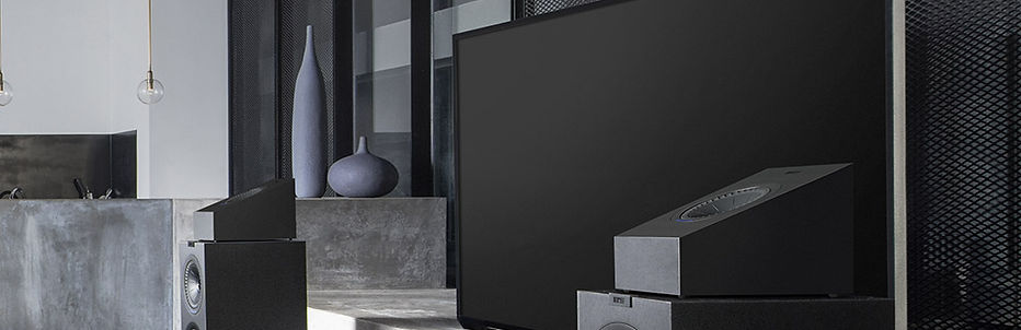 KEF Q50a Atmos effects speakers,