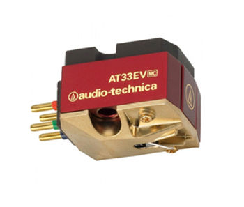 Audio Technica AT33ev cartridge, audio technica moving coil cartridge, turntable stylus, turntable cartridge, the little audio company,