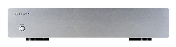 exposure 3010S2 phono stage in titanium.