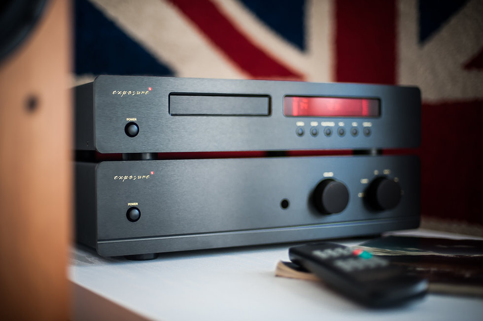 exposure 3010S2D stereo amplifier