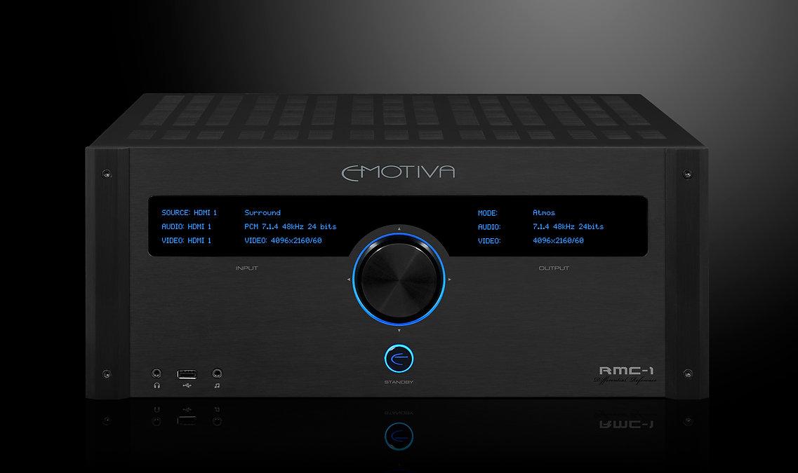 Emotiva RMC-1 home theatre processor, the little audio company,