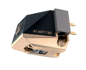 Audio Technica AT-ART7 cartridge, audio technica moving coil cartridge, turntable stylus, turntable cartridge, the little audio company,