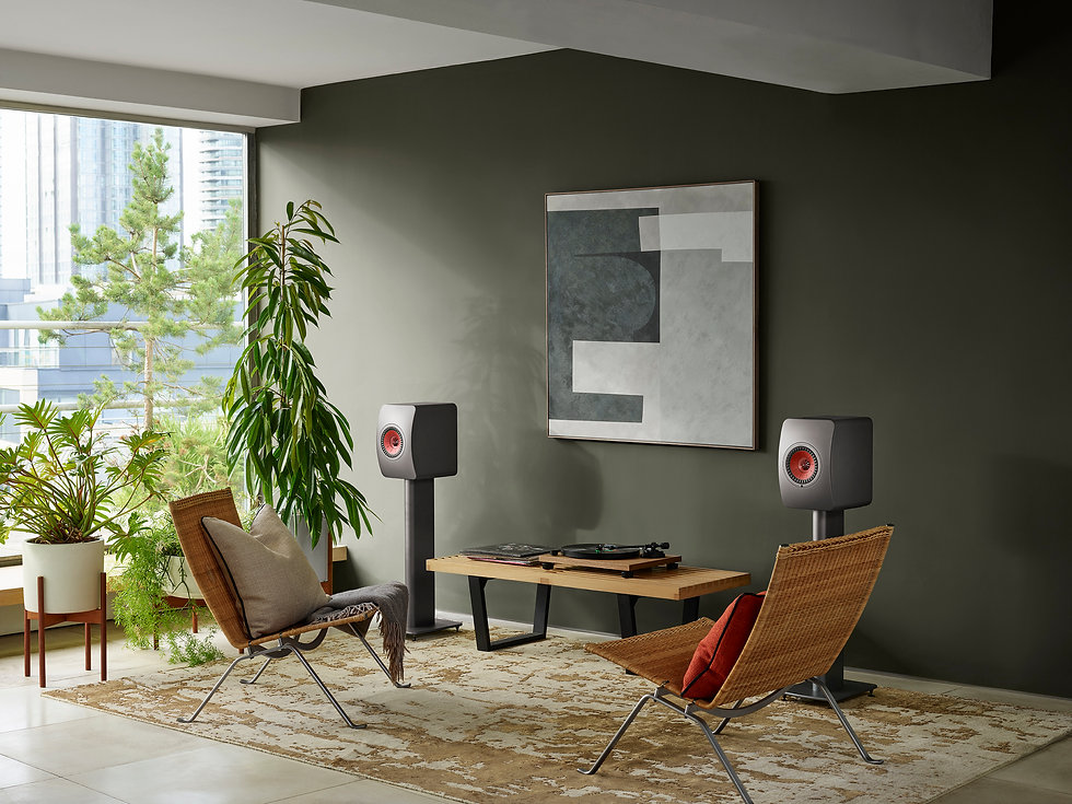 KEF LS50 Wireless 2 in titanium