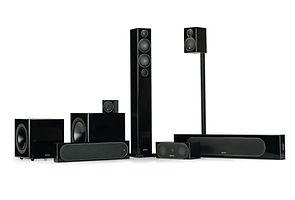 Monitor Audio Radius speakers