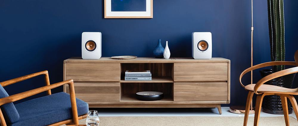KEF LS50 dual concentric loudspeakers