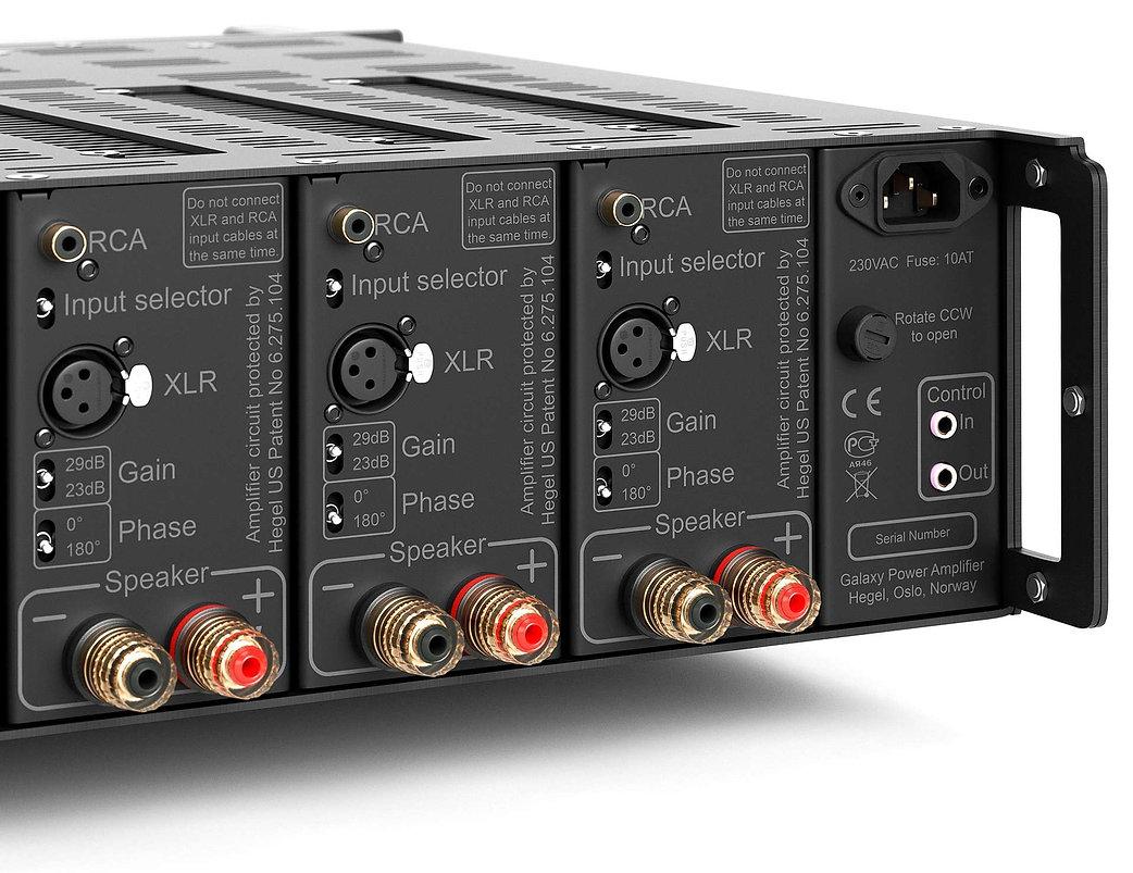 Hegel C55 multi channel power amplifier,