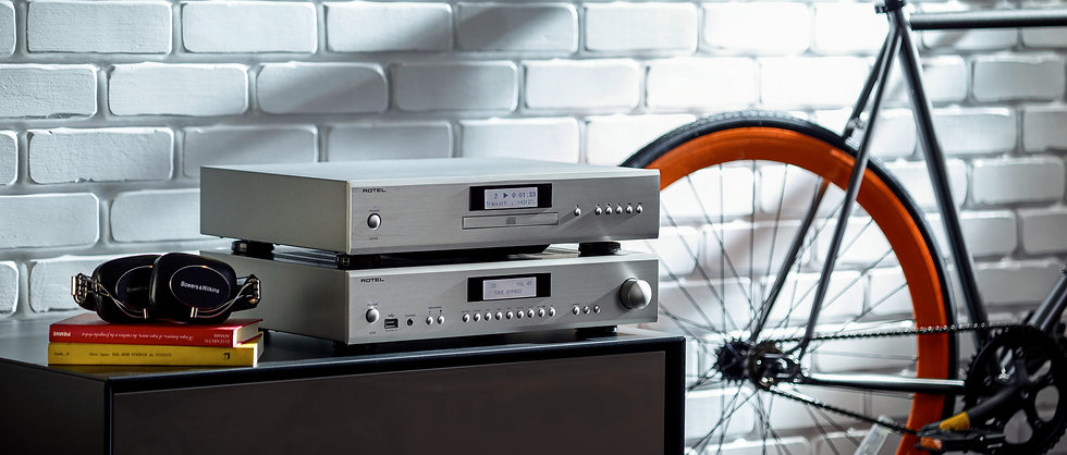 Rotel CD14 compact disc player