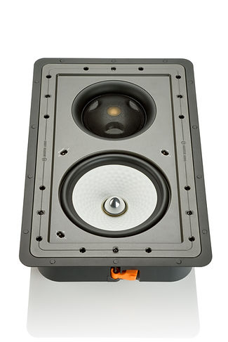 Monitor Audio Controlled Performance speakers, Monitor Audio CP-WT380IDC in-wall speaker, custom install speakers, discreet speakers, the little audio company,