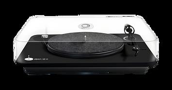 Elipson Alpha 100 RIAA BT turntable, Elipson turntable, hi fi turntable, bluetooth turntable, wireless turntable, USB turntable, the little audio company,