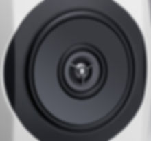 the coincident flat diaphragm drivers of the two-way Technics SB-C700 loudspeakers,