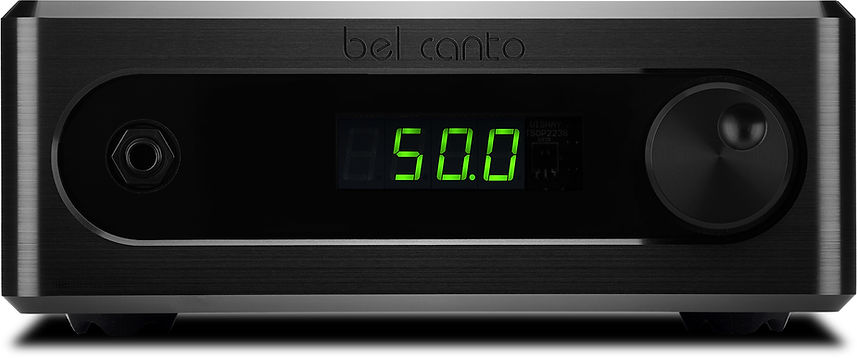 Bel Canto C5i amplifier at the little audio company,