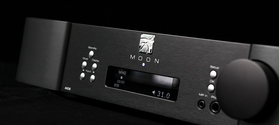 Moon Audio Neo Ace streaming amplifier, Bluetooth amplifier, TIDAL, the little audio company