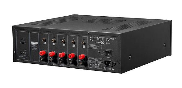 Emotiva A-5175 5-channel power amplifier, the little audio company,