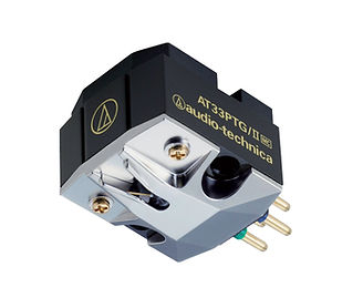 Audio Technica AT33ptg/II Moving Coil Cartridge,