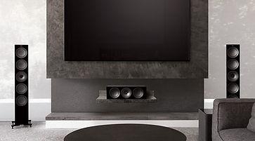 KEF R Series home theatre speaker packages,