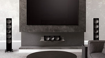 KEF R Series home theatre speaker packages at the little audio company,