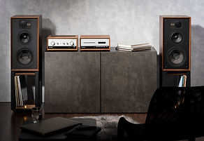 Wharfedale Heritage loudspeakers at the little audio company,