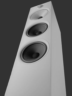 Bowers and Wilkins loudspakers at the little audio company