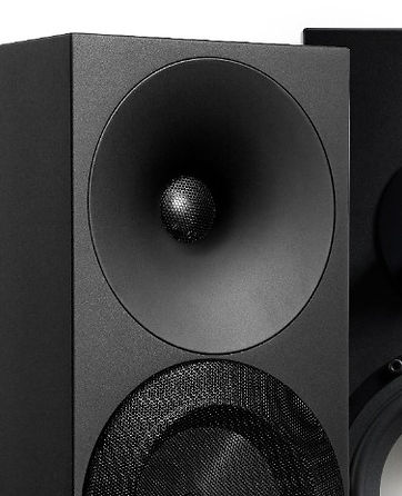 HF waveguide of the Amphion Argon 3S loudspeakers,